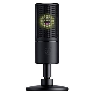 Micrófono condensador Razer Seiren Emote USB con ...