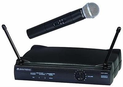 Micrófono inalámbrico Omnitronic VHF-250
