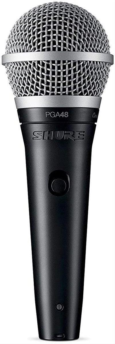 Micrófono Shure PGA48-QTR-E con cable