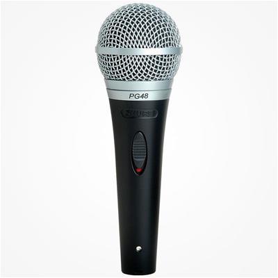 Micrófono Shure PGA48-XLR-E con cable
