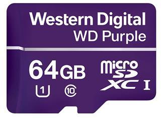MicroSD WD violeta 64GB