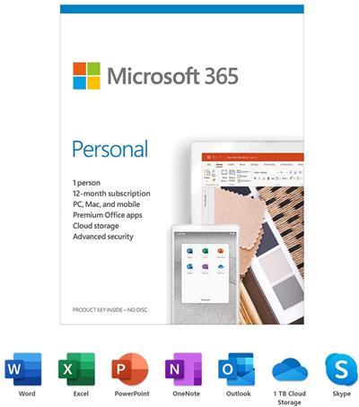 Microsoft 365 Personal 12 Meses 1 Usuario