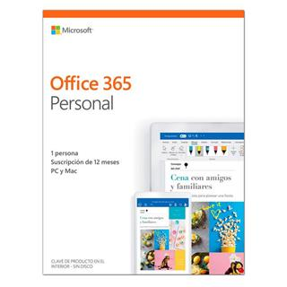 OFFICE 365 PERSONAL 1USR  1AÑO