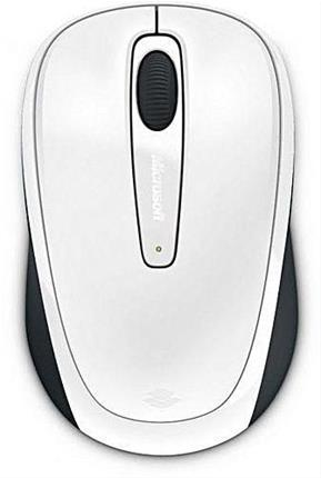 MICROSOFT WIRELESS MOBILE MOUSE 3500      WHITE GLOSS 1 LICS