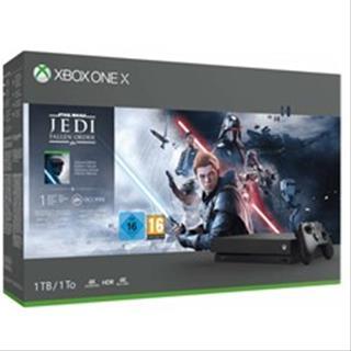 Microsoft Xbox One X 1TB + Star Wars Jedi: Fallen Order Deluxe edition