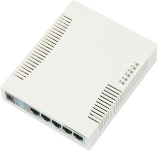 Mikrotik RB260GS G- Switch de red (Gigabit ...