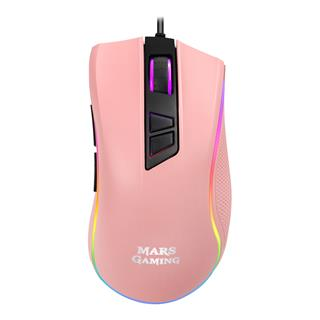 MOUSE MARS GAMING MM218 EDICION LIMITADA PINK ...
