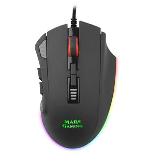 MOUSE MARS GAMING MM418 OPTICO PIXART 3389PRO 32.000DPI SOFTWARE