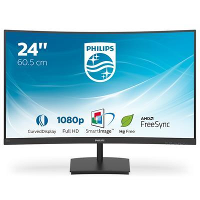 Monitor Philips 241E1SC/00 23.6' LCD FullHD
