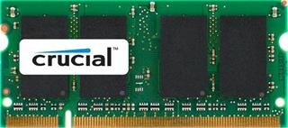 Módulo Crucial CT25664AC667 DDR2 2GB 667MHz CL5 SODIMM