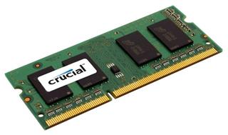 Módulo Crucial CT25664BF160B DDR3 2 GB 1600 MHz CL 11  SODIMM