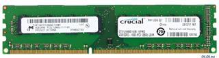 Módulo Crucial CT51264BD160B DDR3 4GB 1600MHz CL11