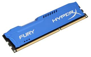 Módulo Kingston HyperX Fury Blue  DDR3 4GB ...