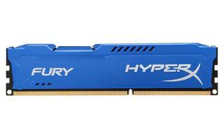 Módulo Kingston HyperX Fury Blue DDR3 8GB 1600MHz CL10