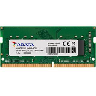 MODULO SODIMM DDR4 16GB 2666MHZ ADATA PC4-21300