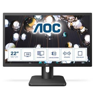 "Monitor AOC 22E1D 21.5"" LED FullHD"