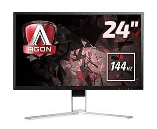 "Monitor AOC AG241QX 23.8"" 2560x1440 16:9 1MS VGA DVI HDMI DP USB"