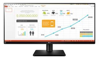 """Monitor LG  34UB67-B 34"""" HDMI"""