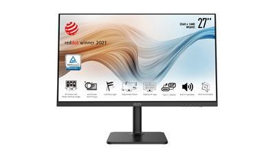 Monitor MSI Modern MD271QP 27' WQHD IPS
