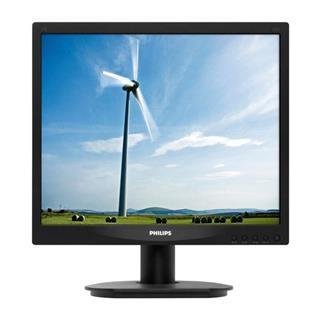 "Monitor PHILIPS 17S4LSB 17"" LCD 1280x1024 5:4 5ms VGA DVI Plata"
