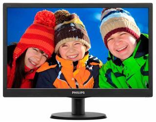 "Monitor Philips 193V5LSB2 18.5"" LED 16:9 SmartControl Lite"