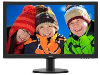"""Monitor Philips 243V5LHSB/00 24"""" LED 1920x1080 16:9 5MS VGA DVI"""