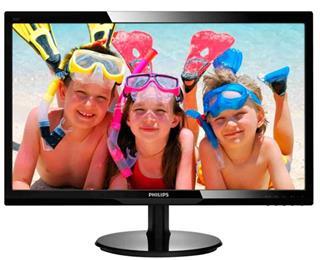 """Monitor PHILIPS 246V5LSB 24"""" LED 1920x1080 16:9 5ms VGA DVI"""
