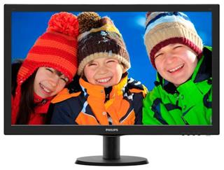 "Monitor PHILIPS 27"" LED 1920x1080 FHD 16.9 10M:1 VGA DVI HDMI Ne"