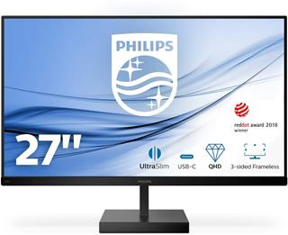 Monitor Philips C Line 276C8/00 27' LED IPS WQHD