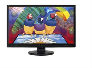 "Monitor Viewsonic VA2445-LED 24""16:9 1920x1080 5ms VGA DVI"