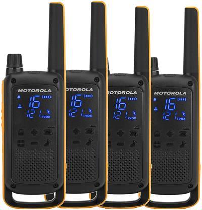Motorola DOBLE PAREJA WALKIE T82 EXTREM