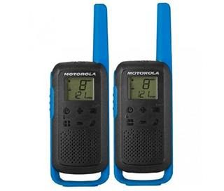 Motorola WALKIE TALKIES T62 BLACK BLUE