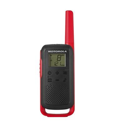 Motorola WALKIE TALKIES T62 BLACK RED