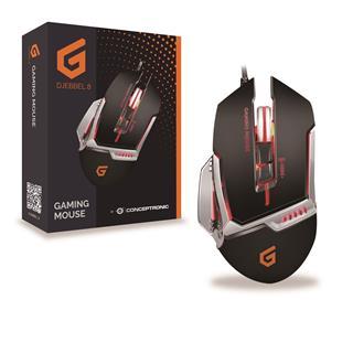 Ratón Conceptronic DJEBBEL 8 Gaming 4000DPI con ...