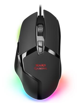 Ratón Mars Gaming MMGX 10000DPI 8 botones
