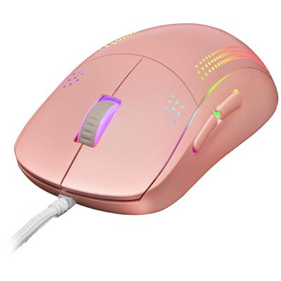 MOUSE MARS GAMING MMPRO PINK AMBIDIESTRO OPTICO ...