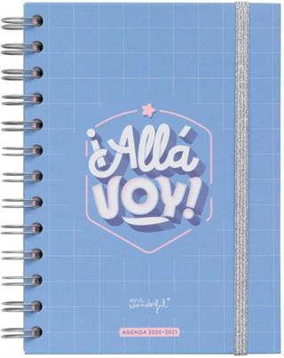 Agenda escolar Mr. Wonderful WOA10366ES 2020-2021 ...