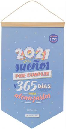 Mr. Wonderful CALENDARIO DE PARED - 2021 SUEÑOS ...