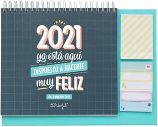 Mr. Wonderful CALENDARIO DE SOBREMESA - 2021 YA ...