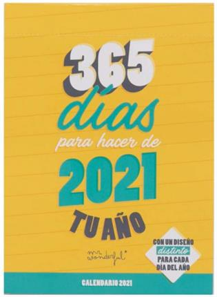 Mr. Wonderful CALENDARIO DE SOBREMESA DÍA POR ...