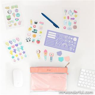 Mr. Wonderful KIT TO DECORATE AND SHOW OFF YOUR ...