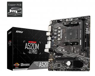 Placa base MSI A520M-A Pro AM4