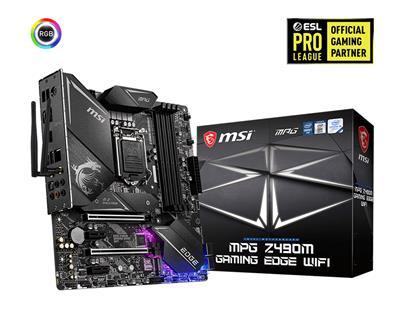 MSI COMPUTER MPG Z490M GAMING EDGE WIFI      IN