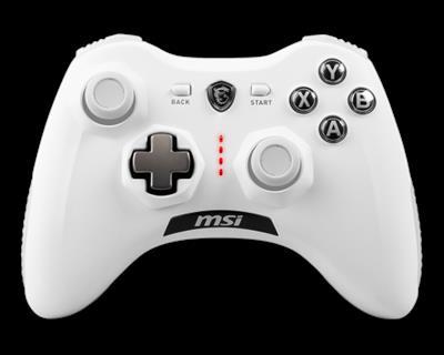 MSI Force GC30 V2 Blanco USB 2.0 Gamepad