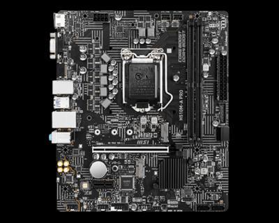 PLACA BASE MSI H510M-A PRO 1200 MATX 2XDDR4·