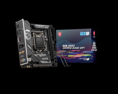 Placa base MSI MPG B560I Gaming Edge WIFI 1200 ...