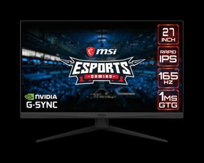 MSI Optix G273QF 68.6 cm (27') 2560 x 1440 Pixeles Quad HD LCD Negro