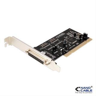 TARJETA PCI PARALELO DB25, 1 PUERTO NANOCABLE