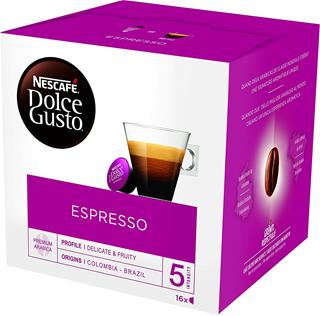 CAPSULA CAFETER CAFE DOLCE GUSTO ESPRESSO