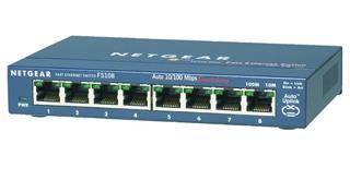 Netgear ProSafe 8 Port 10/100 Desktop Switch